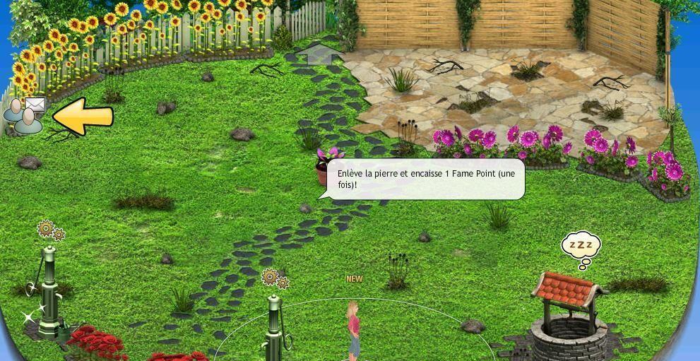 2e tâche - Arrose les fleurs de ton jardin